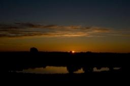 pond-sunset