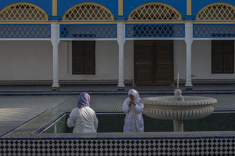Marrakech Cleaning the Fountain.jpg